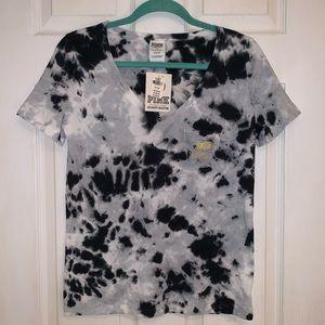 PINK Purdue Tie Dye T-shirt - NWT